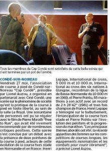 article La Manche Libre 2 juin 2016
