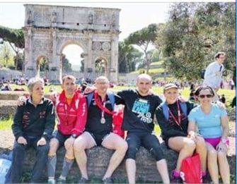 Cinq Capiens au Marathon de Rome